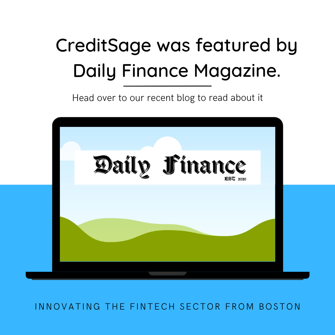 creditsage was Featured by Daily Finance Magazine.